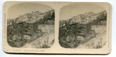 Cuenca, vista parcial de la ciudad
