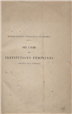Oeuvres et institutions féminines [Texto impresso] : droits des femmes