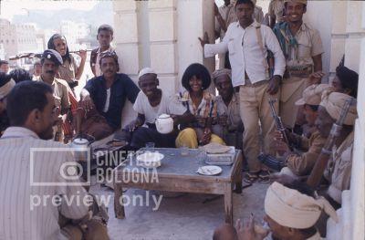 Pier Paolo Pasolini. Il fiore delle mille e una notte. 1974 / Sud Yemen Hadramaut Sayun love city, Ines Pellegrini