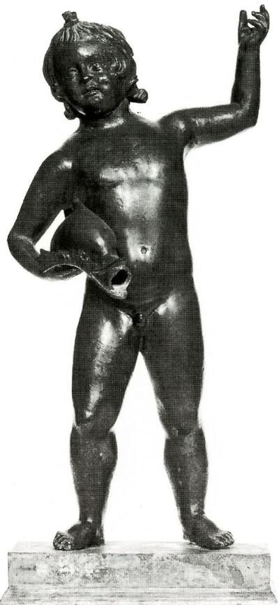 statuetta maschile