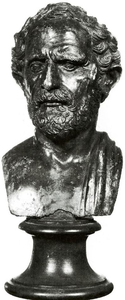busto ritratto maschile