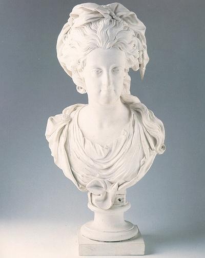 Busto di Maria Carolina d'Asburgo