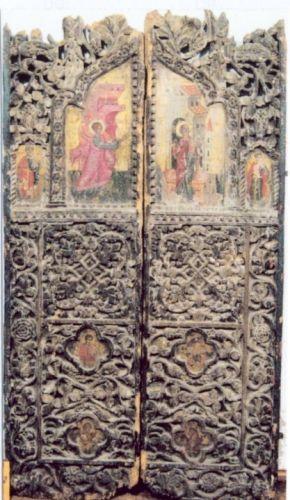 Uși împărătești (două canturi)