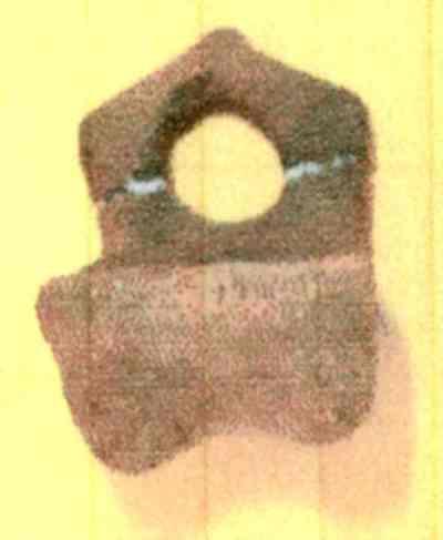 Scaun miniatural cu spătar