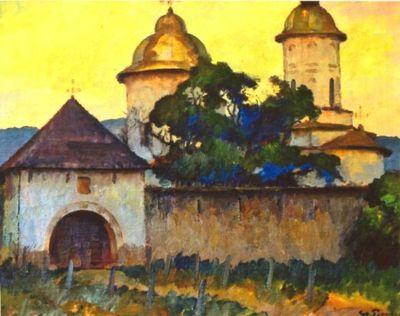 Mănăstirea cu două turle