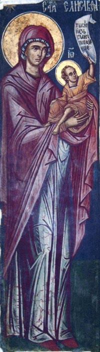 Sf. Elisabeta cu Ioan Botezătorul
