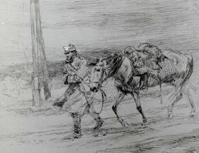 Soldat cu cal