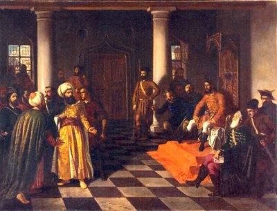 Vlad Țepeș și solii turci