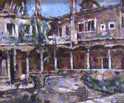 Curte de mănăstire la Veneția