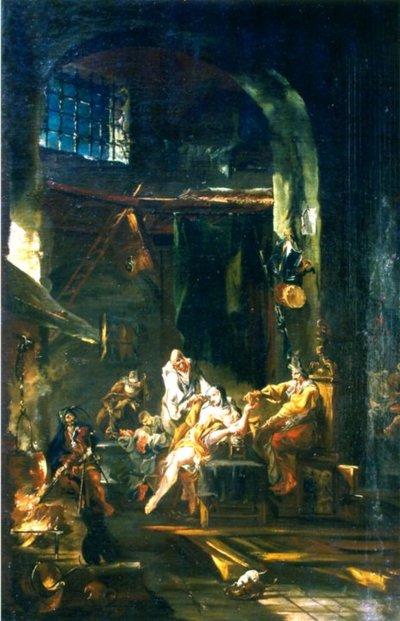 Briganzi în mănăstire