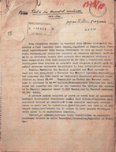 Sârbii din Banatul românesc (1919-1940)