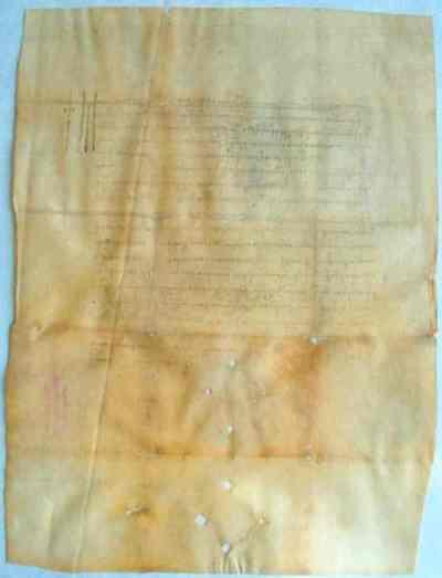 Uric de danie de la Bogdan II vv. pentru Pătru Durnea