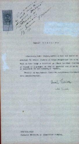 Adresa lui Aurel Vlaicu către Titu Maiorescu