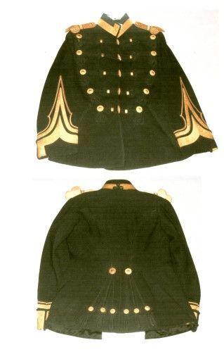 Tunică de ofițer de cavalerie în grad de general de brigadă