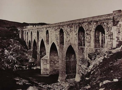 Puente de Ricobayo, carretera de tercer orden de Zamora a Portugal, provincia de Zamora