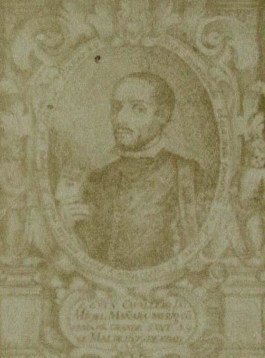 Lucas de Valdés. Portrait of Don Miguel Mañara. From The Relacion de la muerte, vida y virtudes del venerable M. Mañara, por Fr. Juan de Cardenas