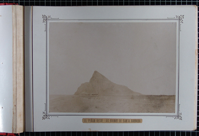 El Peñón desde las ruinas de Santa Bárbara