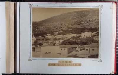 Gibraltar. Almacenes del Rosia y cuarteles de Sur