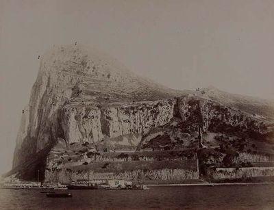 Gibraltar. El monte de las monas y la cuesta del perejil