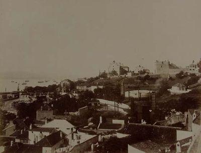 Gibraltar. La fábrica del gas desde el hospital naval