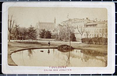Toulouse. Église des Jésuites