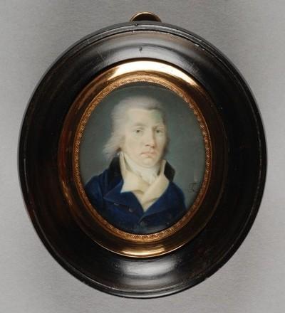 Portretminiatuur van Dirk van Hogendorp