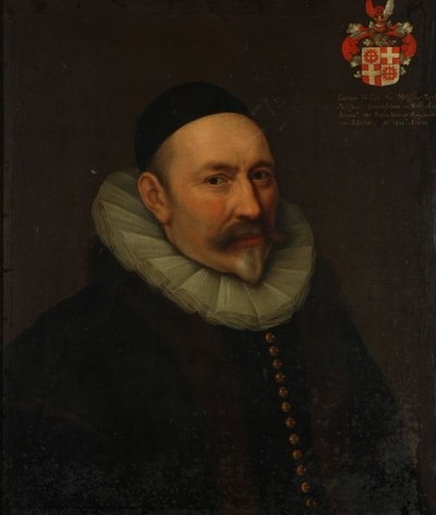 Portret van Willem Jansz. Van Melissant