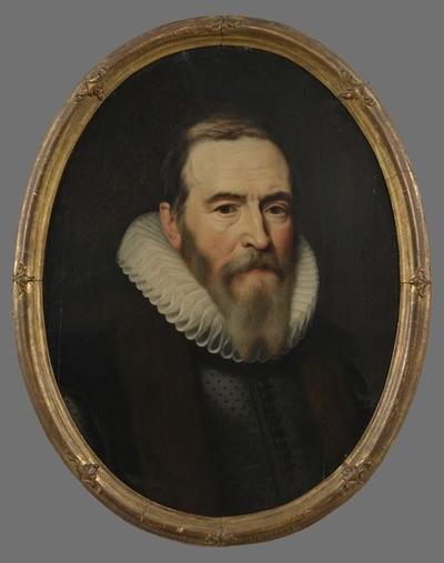 Portret van Johan van Oldenbarnevelt