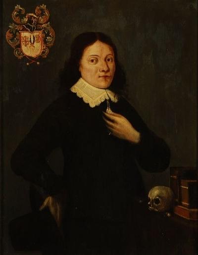 Portret van man (geneesheer?) uit geslacht Verhaven (?)