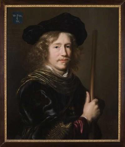 Portret van Adriaen Vroesen (circa 1611/1615-1669)