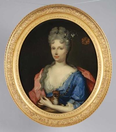 Portret van Catharina Margaretha Beck (?-1737)