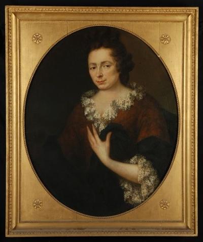 Portret van Sara Davidsdr. Le Balleur (1663-1735)