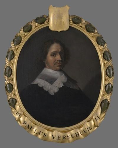 Portret van Paulus Verschuer (1606-1667)