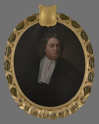 Portret van Jan van der Burght (1613-1688)