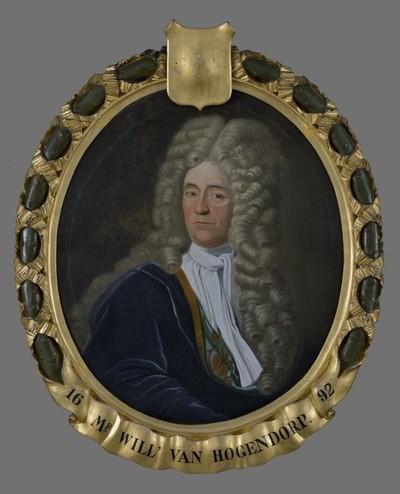 Portret van mr. Willem van Hogendorp (circa 1656-1733)