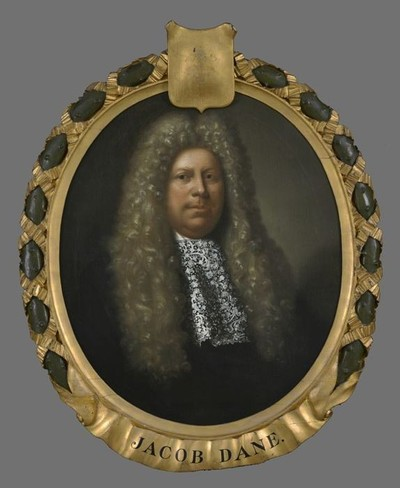 Portret van Jacob Dane (1638-1699)