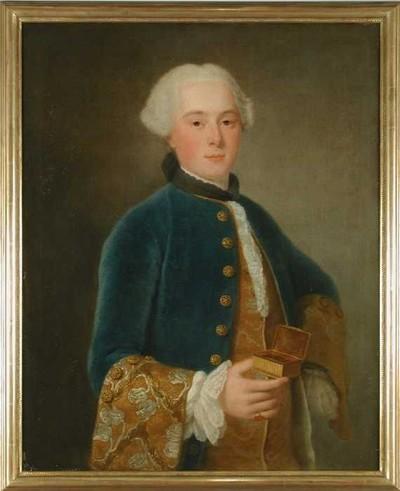 Portret van Arnout Leers jr. (1731-1785)
