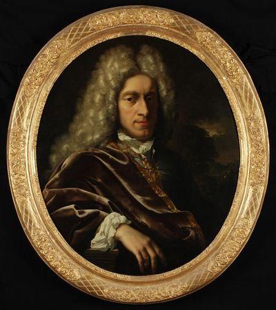 Portret van een man uit het geslacht Schepers of Visch