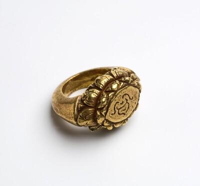Gouden vingerring