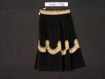 Fluwelen rok