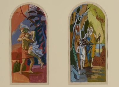 Six Scenes from the Old Testament, Abraham and Isaac