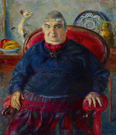 Portrait of Orovida Pissarro