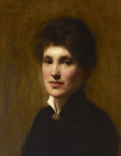 Portrait of Henrietta Lowy Solomon, the Artist's Sister