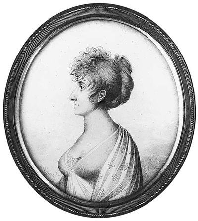 Magdalene (Malla) Montgomery (1782-1861), g Silfverstolpe, författare