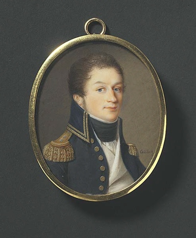 Fredrik Pontus Schenson (1774-1828),stallmästare,stuterichef Strömsholm