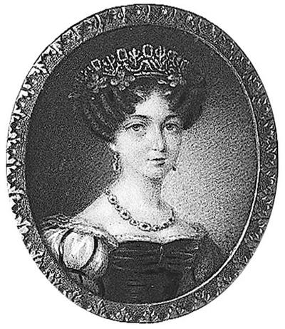 Joséphine (1807-1876) som kronprinsessa