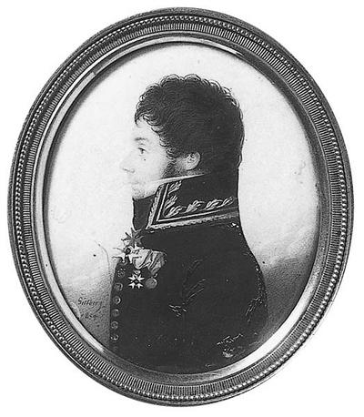 Carl Johan af Wirsén (1777-1825), amiral