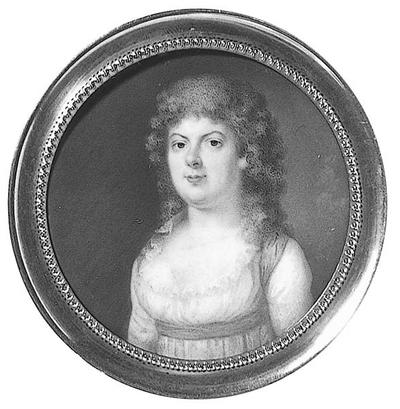 Magdalena Rudenschöld (1766-1823), hovdam