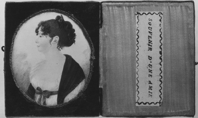 Lovisa Charlotta Malm, 1768-1845, gift med president  A.K. Reuterholm