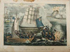 Неизвестен: Потопяването на Бормасунд от англо-френската флота.